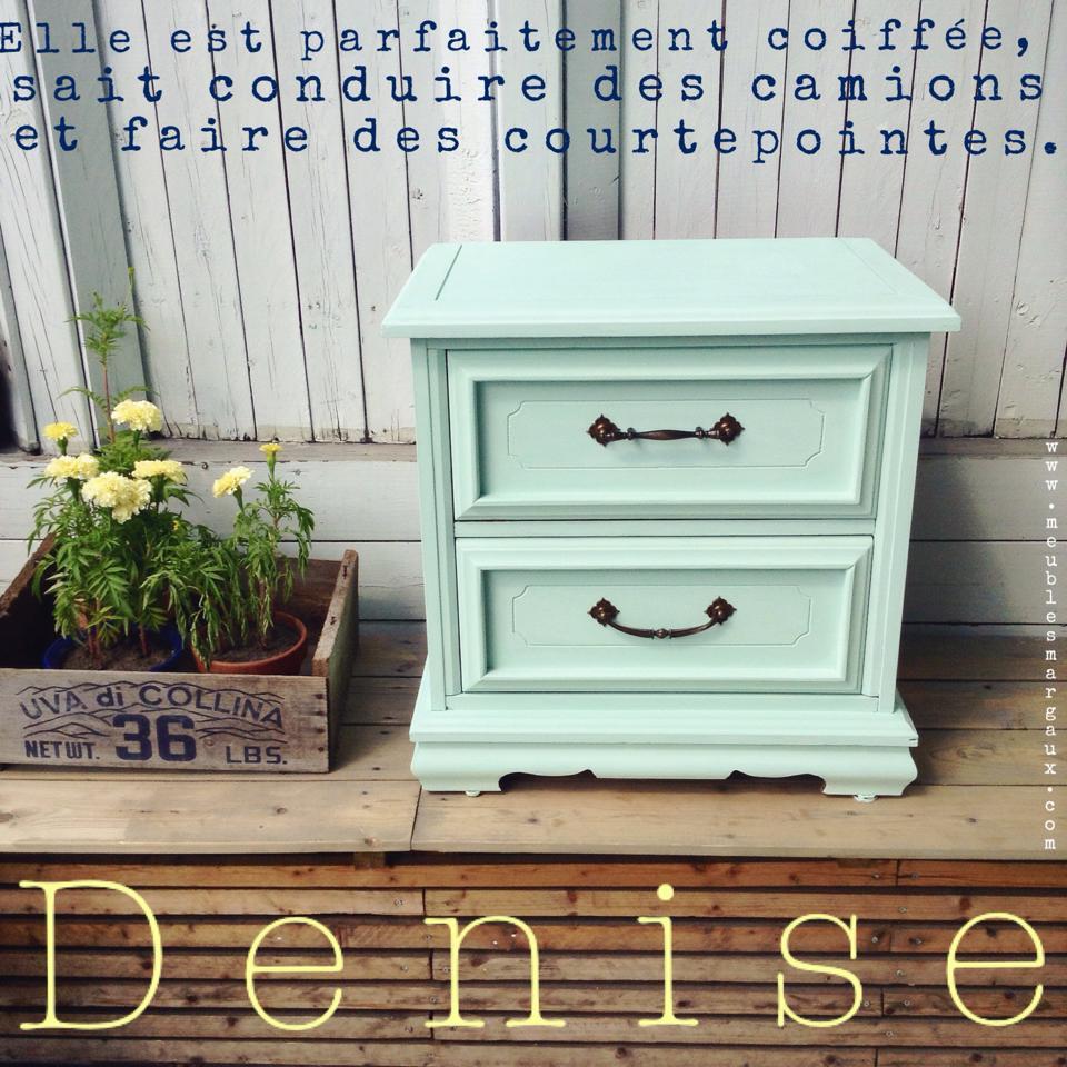 Denise - table de chevet