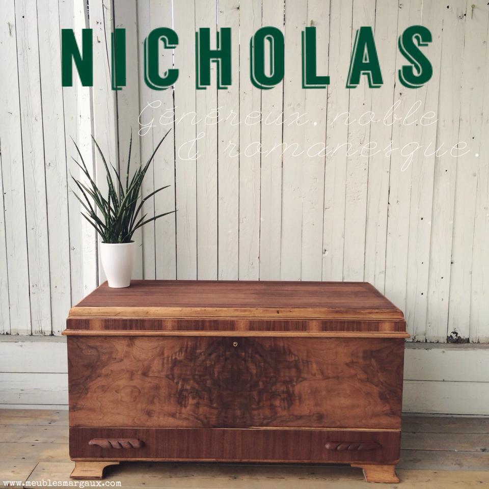 Nicholas - coffre