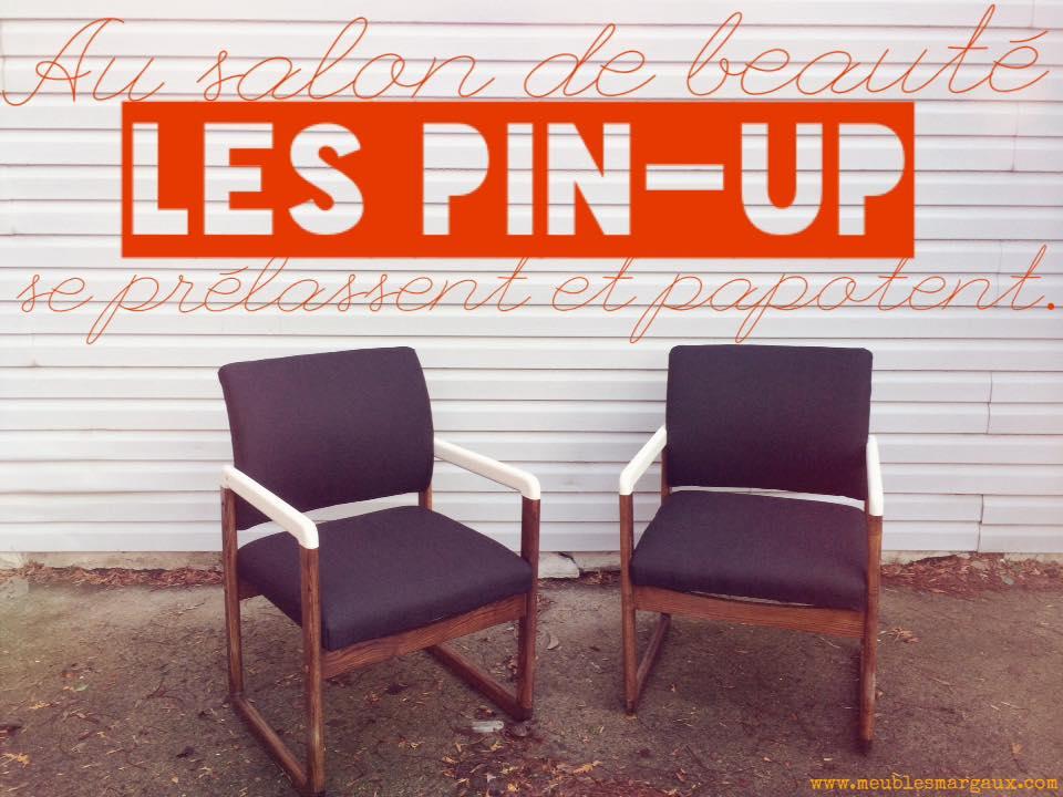 Les pin-up - Fauteuils